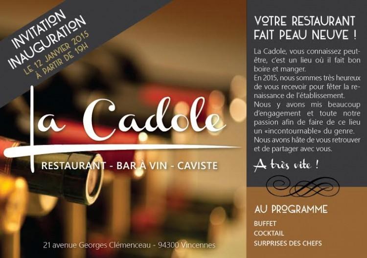 La Cadole, restaurant caviste